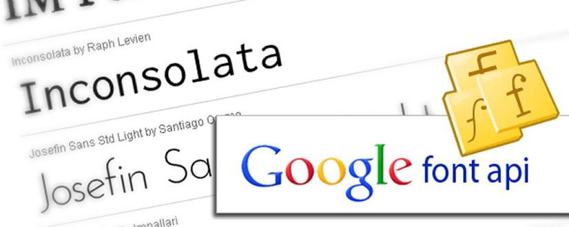 google font api 1