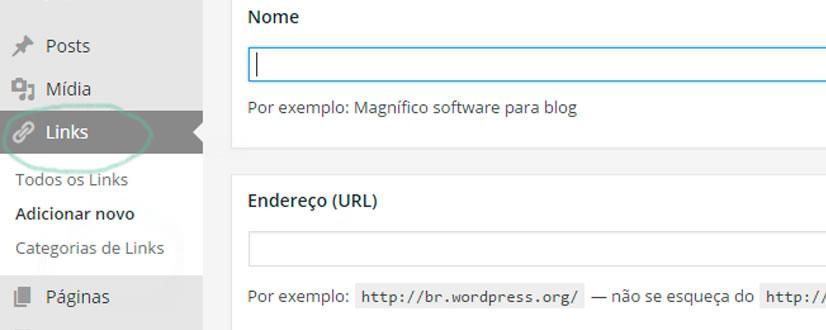 wordpress aba links