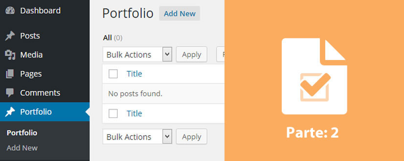 criando custom post types no wordpress parte2