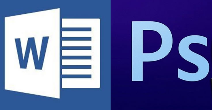 Photoshop e Word - alternativas