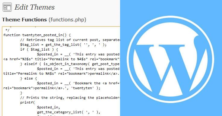 WordPress - contar palavras - Word Count
