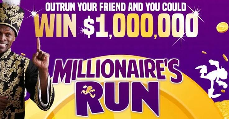 Millionaire's Run - o jogo móvel