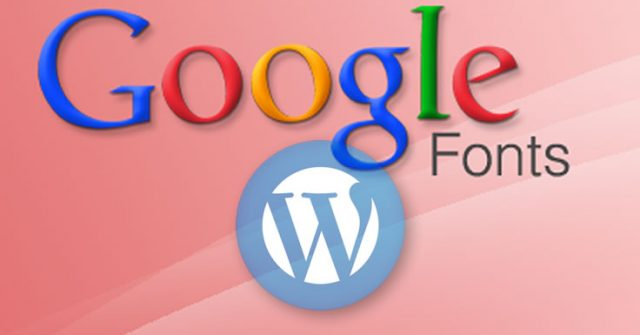 Usando corretamente as fontes do Google no WordPress