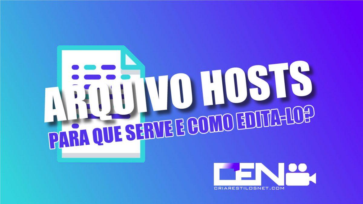 arquivo hosts no linux
