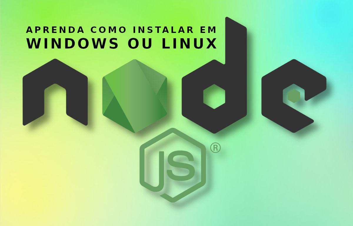 Instalar o Node JS