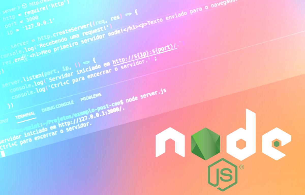 primeiros projetos com Node.js